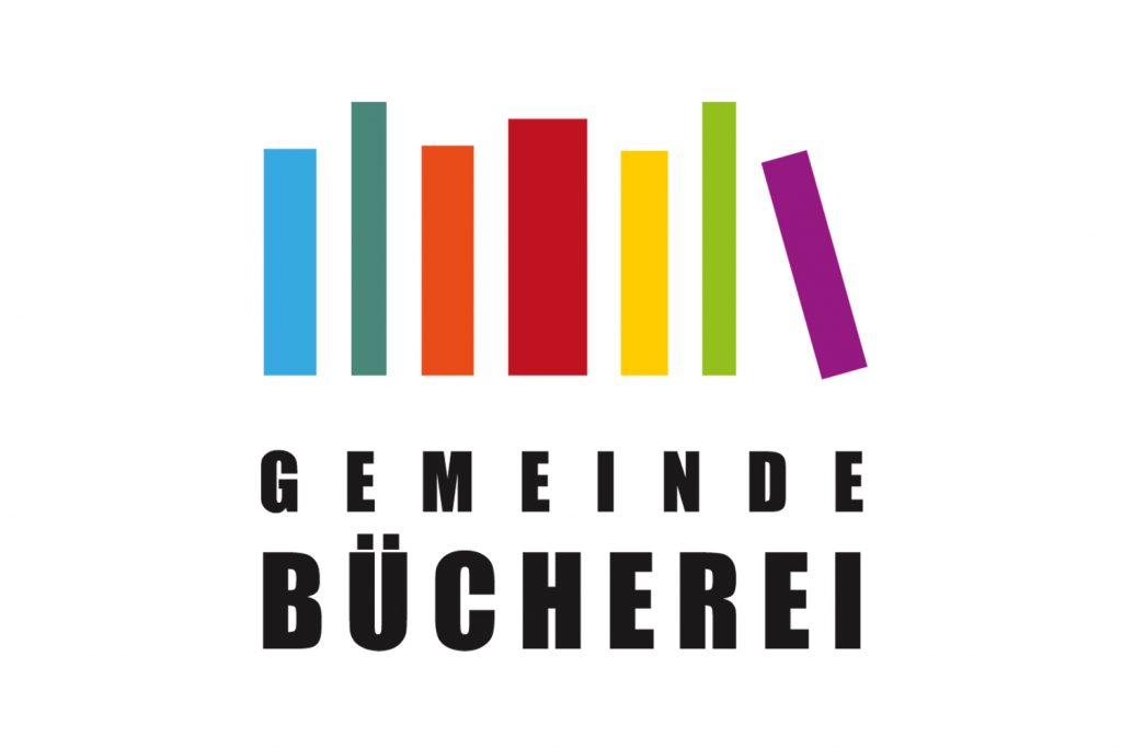 Kunde: Gemeindebücherei . Biebesheim . Logogestaltung, Schaufensterbeschriftung