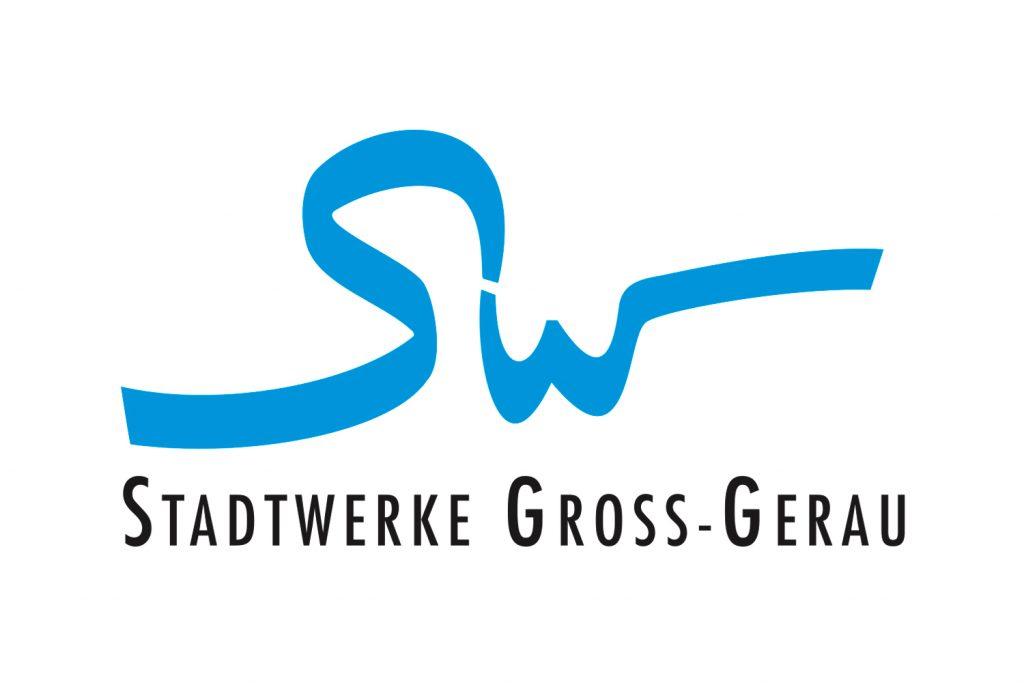 Kunde: Stadtwerke . Groß-Gerau. Logoentwurf, Fuhrpark Beschriftung, Beschilderung Kläranlage, div. Magnet-Schilder ...